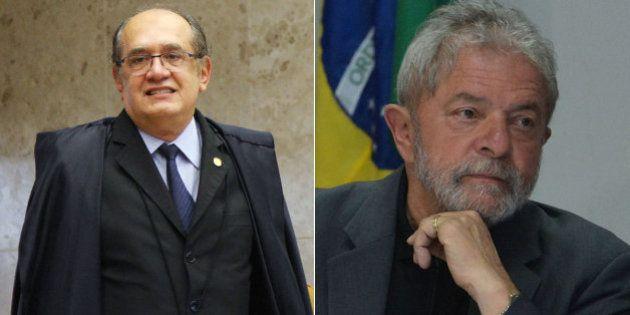 Após criticar indicação, ministro Gilmar Mendes vai analisar mandado de segurança para barrar Lula na...