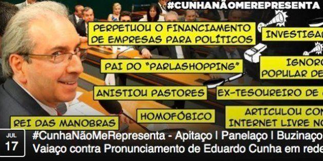 Grupos organizam 'panelaço' nas redes sociais durante pronunciamento de Eduardo