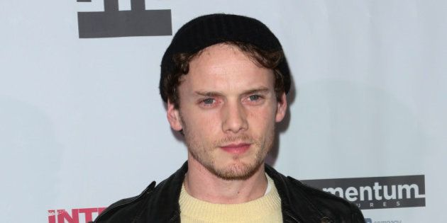HOLLYWOOD, CA - JANUARY 15: Actor Anton Yelchin attends the premiere of 'Intruders' at Arena Cinema Hollywood...