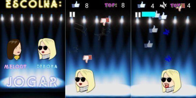 'Top nos Falsetes': Falsete de MC Melody vira jogo para