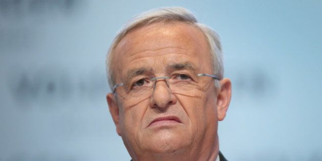 WOLFSBURG, GERMANY - MARCH 13, 2014: In this file photo Volkswagen CEO Martin Winterkorn attends the...