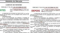 Ministério da Educação cede à pressão de religiosos e destitui o Comitê de