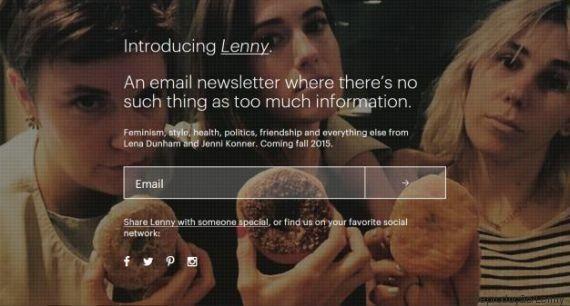 Conheça 'Lenny', a newsletter da atriz Lena Dunham para mulheres jovens