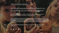 Conheça 'Lenny', a newsletter de Lena Dunham para jovens