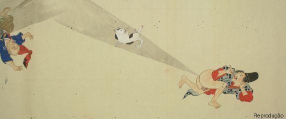 O guia ilustrado da 'guerra de peidos' no Japão da era medieval