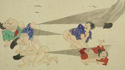 FOTOS: O guia ilustrado da 'guerra de peidos' no Japão da era