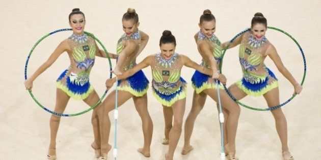 Brasileiras faturam o penta na ginástica rítmica em