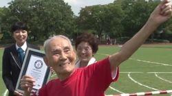 IN-CRÍ-VEL! Japonês de 105 anos quebra recorde ao correr prova de 100m