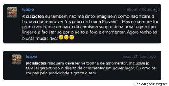 Luana Piovani desabafa sobre amamentação em público: 'Ficam de butuca querendo ver 'os peitos da Luana