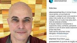 Edson Celulari anuncia que está em tratamento contra câncer: 'Todo carinho será