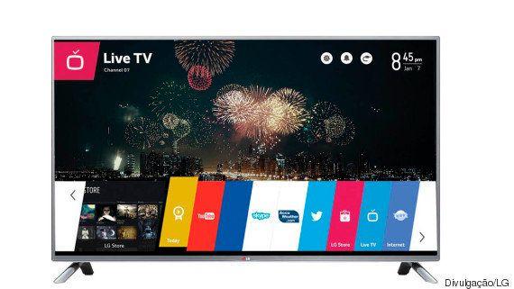 5 TVs inteligentes para jogar a sua atual pela