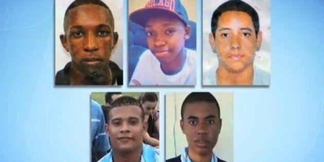 Ministério Público pede condenação dos Policiais Militares acusados de matar cinco jovens no
