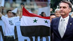 ASSISTA: Bolsonaro mistura África com Síria e sugere que refugiados são
