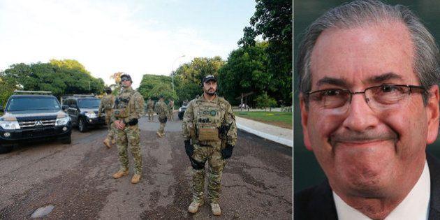 Polícia Federal faz buscas nas casas do presidente da Câmara, Eduardo Cunha, em nova fase da Operação...