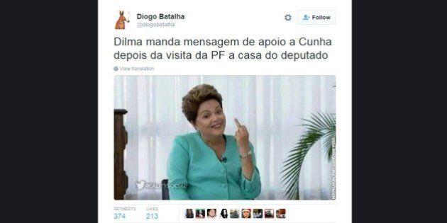 Esses 16 tweets sobre a investigação da Polícia Federal na casa de Eduardo Cunha são a prova que a internet...