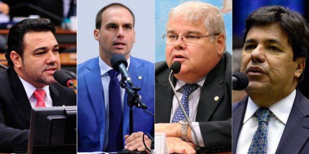 Três em cada cinco parlamentares da comissão do impeachment de Dilma receberam dinheiro de empresas da...