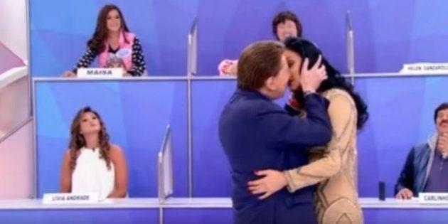 Silvio Santos passou do ponto em 'brincadeira' com Helen Ganzarolli. E Maísa o colocou em seu