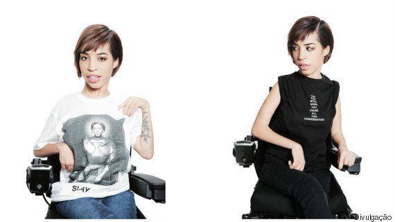 Divas! Modelo com distrofia muscular é estrela de nova campanha da marca de