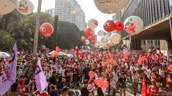 'Lula lá!' Manifestações contra impeachment de Dilma acontecem em todos os