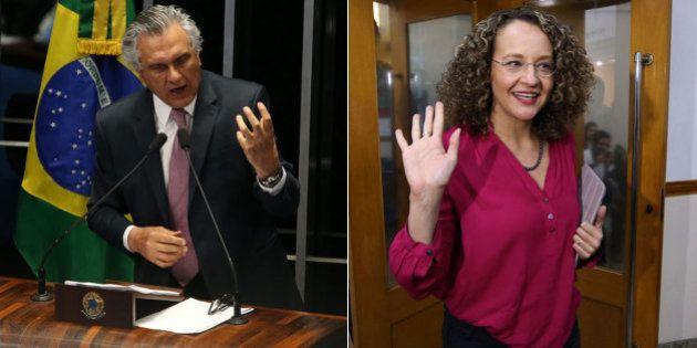 Senador do DEM, Ronaldo Caiado 'copia' Luciana Genro, do PSol, e sugere eleições gerais em