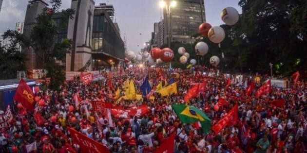 Sérgio Moro, Rede Globo e Fiesp são principais alvos em protestos por Dilma Rousseff e