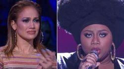 ASSISTA: J-Lo se emociona com performance de vítima de abuso em 'American