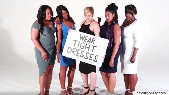 Mulheres gordas mostram que podem usar e fazer TUDO o que quiserem