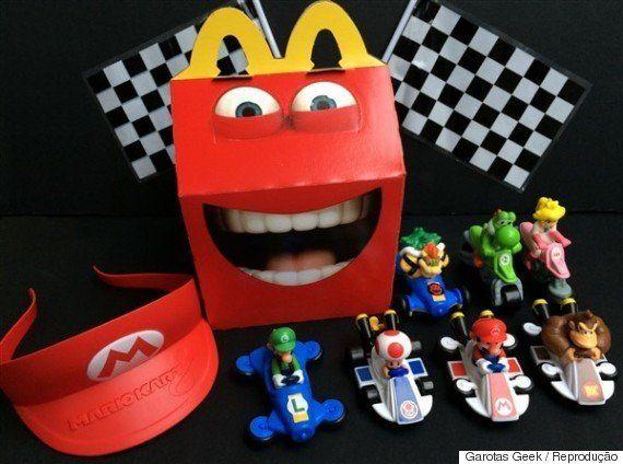 McLanche Feliz terá brindes de 'Mario