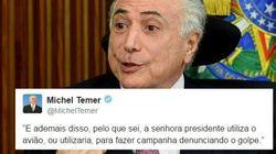 9 tweets de Michel Temer que as pessoas estão tentando