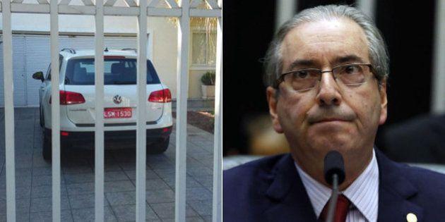 Táxi encontrado na casa de Eduardo Cunha está em nome de acusado de receber