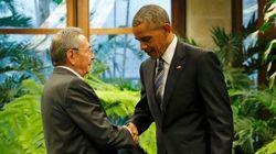 HISTÓRICO! Obama e Raul Castro se encontram em