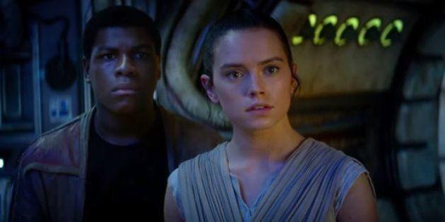 'Star Wars: O Despertar da Força' é o primeiro filme da franquia protagonizado por uma mulher e um
