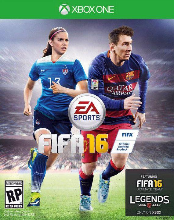 Agora é com elas: FIFA 16 traz mulheres na capa pela primeira