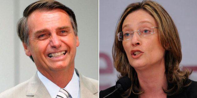 Bolsonaro é condenado a indenizar Maria do Rosário ao dizer que deputada 'não merecia' ser