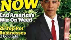Obama foi parar na capa da publicação sobre maconha mais antiga dos