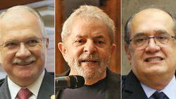 Fachin analisará pedido de Lula para anular decisão de Gilmar