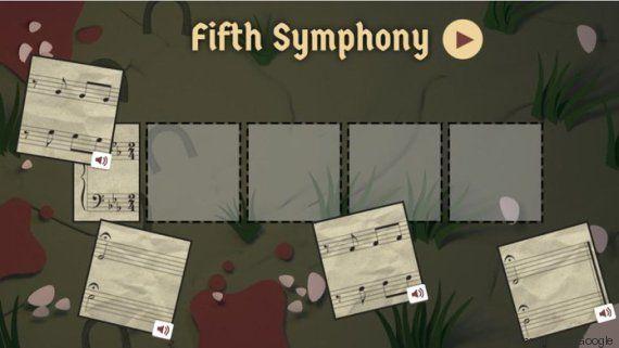 Beethoven completaria 245 anos hoje e o Google fez um Doodle incrível para