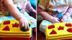 Esta garotinha perde a paciência com brinquedo e vira sensação nas redes