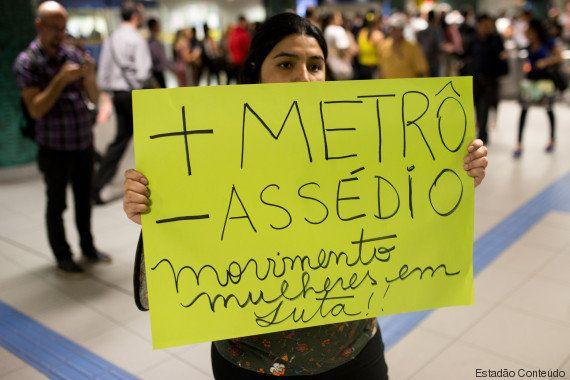 A cada 48 horas, uma mulher se queixa de assédio sexual nos trens de