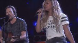 ASSISTA: Beyoncé e Eddie Vedder, do Pearl Jam, fazem versão de Bob