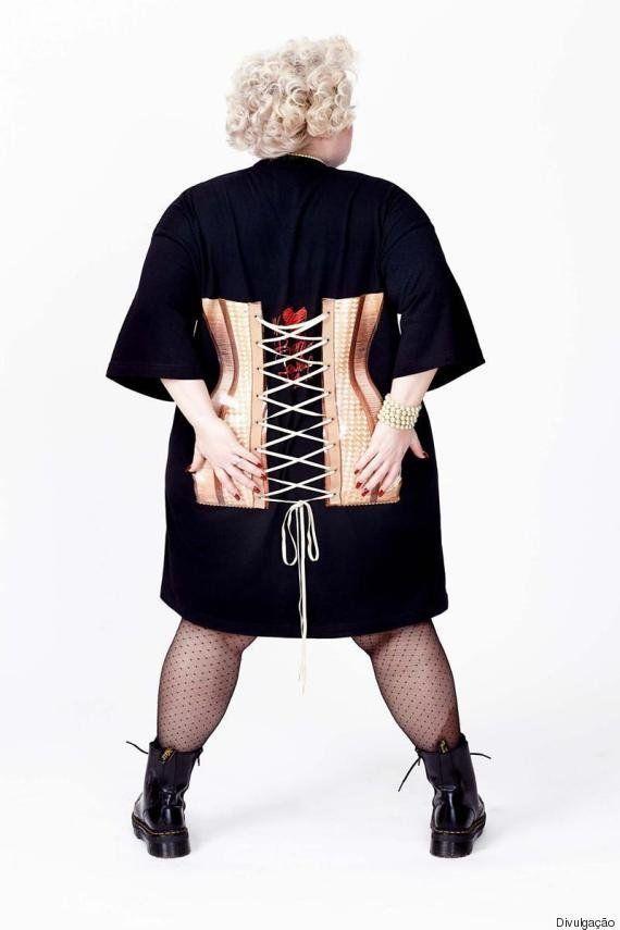 Em parceria com estilista Jean Paul Gaultier, Beth Ditto, do 'The Gossip', lança coleção plus