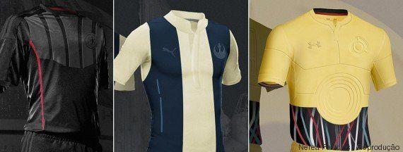 Darth Vader, Chewbacca, Princesa Leia... Designer cria uniformes de futebol baseados em personagens de...