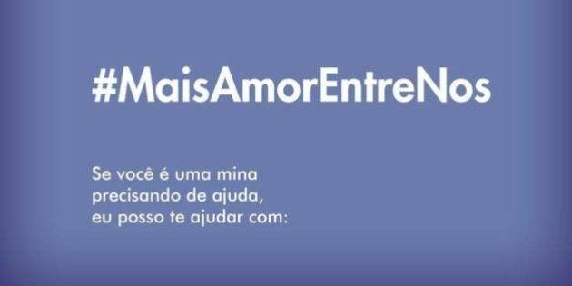 #MaisAmorEntreNós: Mulheres criam hashtag nas redes sociais para ajudar umas às