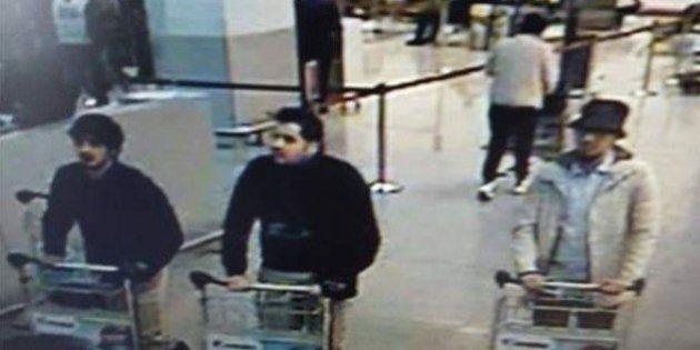Polícia belga divulga foto de suspeitos de atentados
