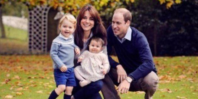 A Família Real inglesa já está em clima de Natal... E o resultado não poderia ser mais
