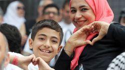 FOTOS: GO-LA-ÇO! Refugiados sírios são os convidados de honra do