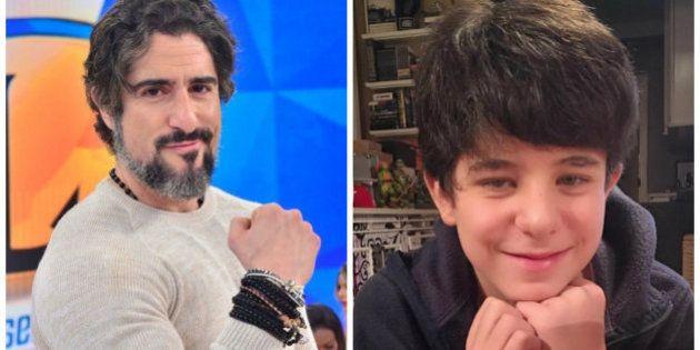 Marcos Mion se declara para filho Romeu: 'Componente principal do meu