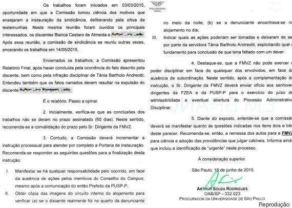 Estupros na USP: Sindicância orienta expulsão de agressor, mas vítima e professor revelam ação para 'abafar'...