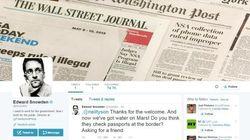 Edward Snowden cria conta no Twitter e já faz 'piada' com a