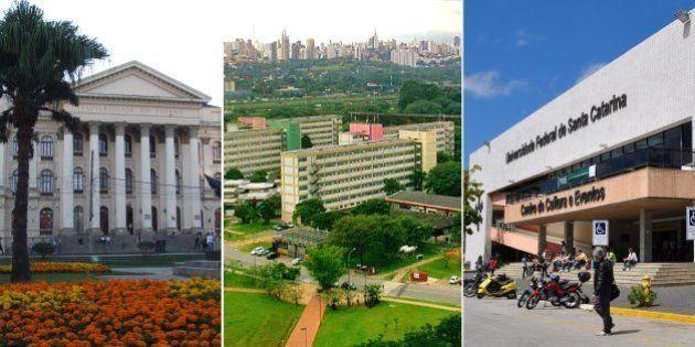 As 17 brasileiras presentes no ranking Times Higher Education das melhores universidades do mundo em